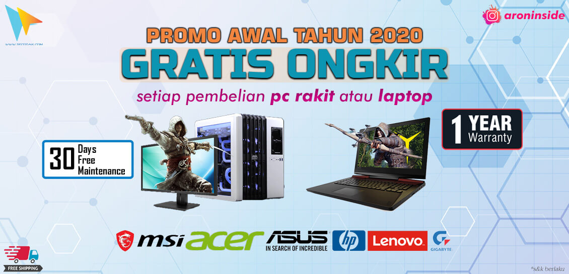 Dapatkan Gratis Ongkir di Tecotak.com