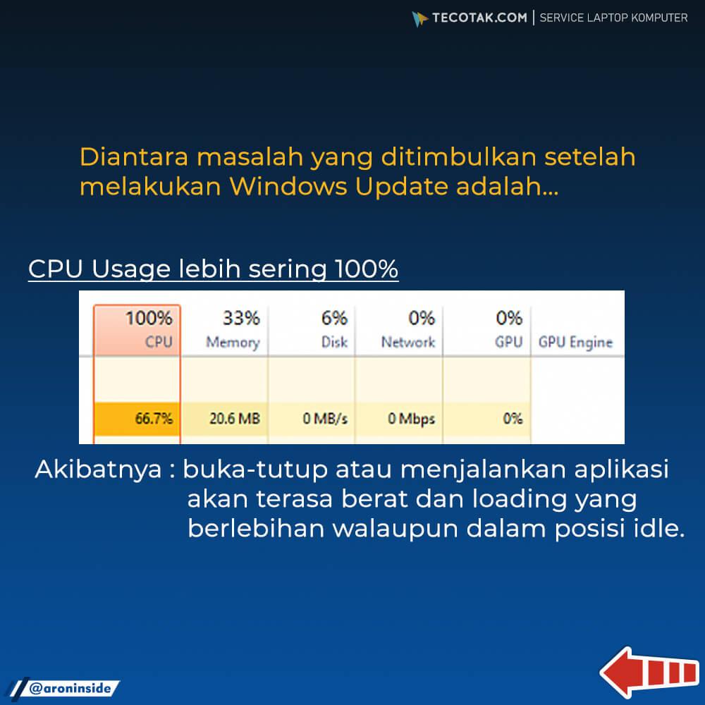 cpu usage 100